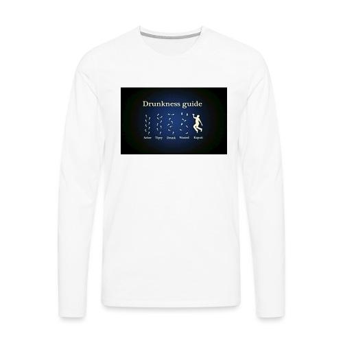 DRUNK - Mannen Premium shirt met lange mouwen