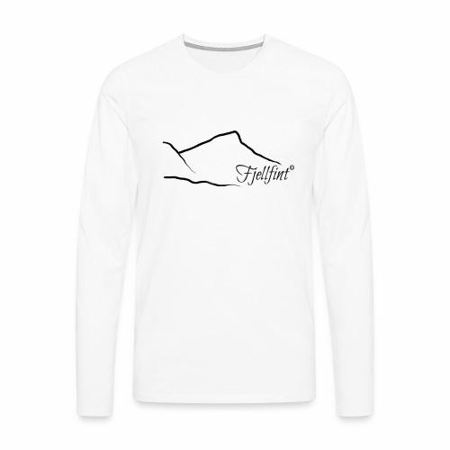 Fjellfint - Premium langermet T-skjorte for menn