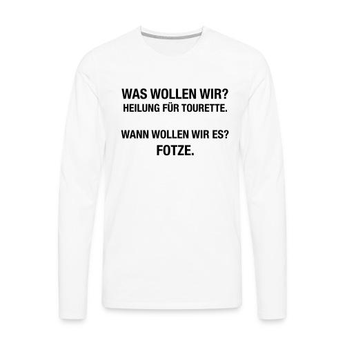 Tourette - Männer Premium Langarmshirt