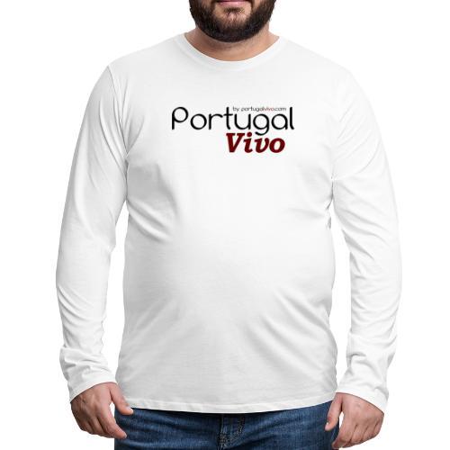 Portugal Vivo - T-shirt manches longues Premium Homme