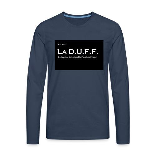 Je Suis... La D.U.F.F. - Mannen Premium shirt met lange mouwen
