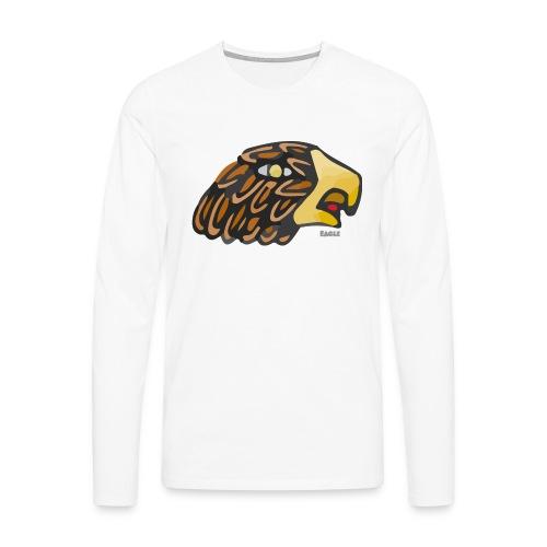 Aztec Icon Eagle - Men's Premium Longsleeve Shirt