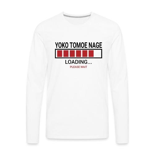 Yoko Tomoe Nage Loading... Pleas Wait - Koszulka męska Premium z długim rękawem