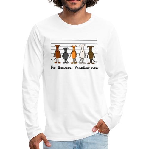 Die üblichen Verdächtigen - Männer Premium Langarmshirt