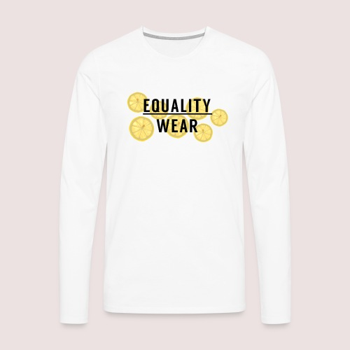 Equality Wear Fresh Lemon Edition - Men's Premium Longsleeve Shirt