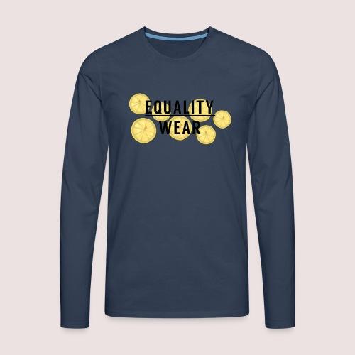 Equality Wear Fresh Lemon Edition - Men's Premium Longsleeve Shirt