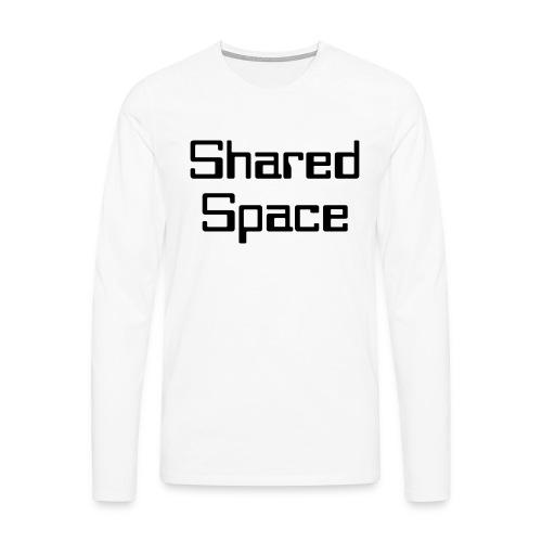 Shared Space - Männer Premium Langarmshirt