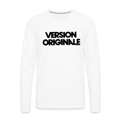 Version Original - T-shirt manches longues Premium Homme