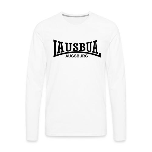 lausbua_augsburg - Männer Premium Langarmshirt