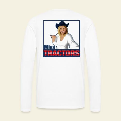 Miss Tractors Logo - Maglietta Premium a manica lunga da uomo