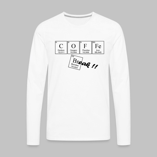 Coffee Break - Men's Premium Longsleeve Shirt