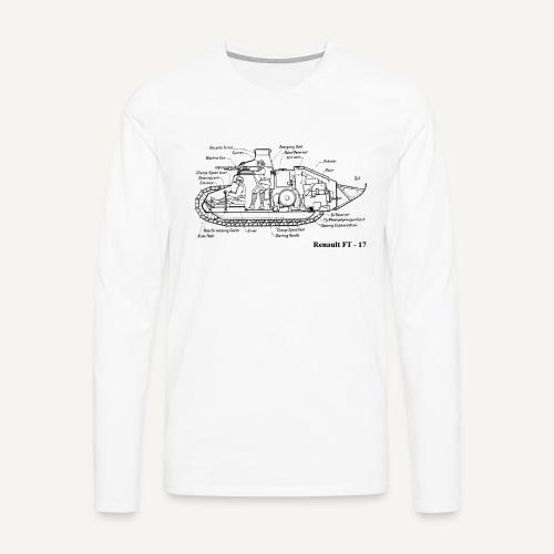 ft17 - Koszulka męska Premium z długim rękawem