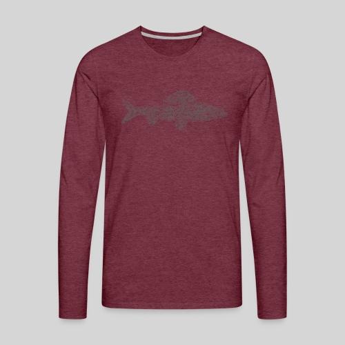 grayling - Miesten premium pitkähihainen t-paita