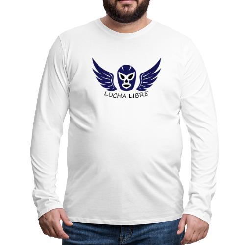 Lucha Libre - T-shirt manches longues Premium Homme