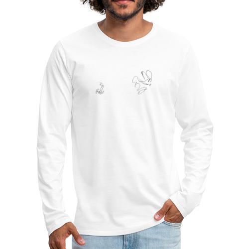 Lauf, Hase, Lauf - Männer Premium Langarmshirt