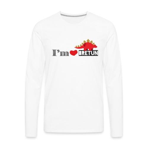 bretun negro - Camiseta de manga larga premium hombre