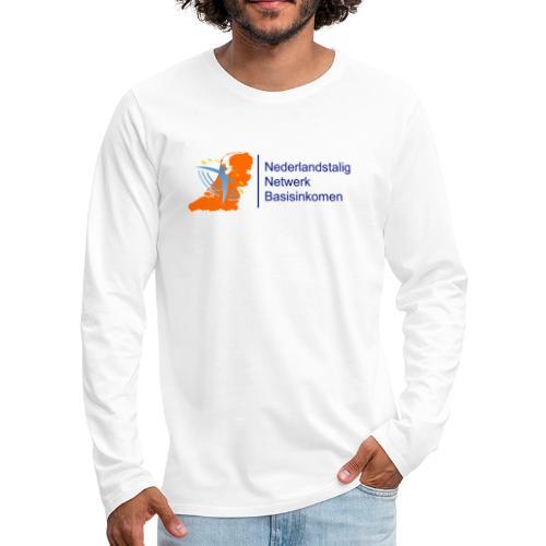 nederlandstalig netwerk basisinkomen - Mannen Premium shirt met lange mouwen