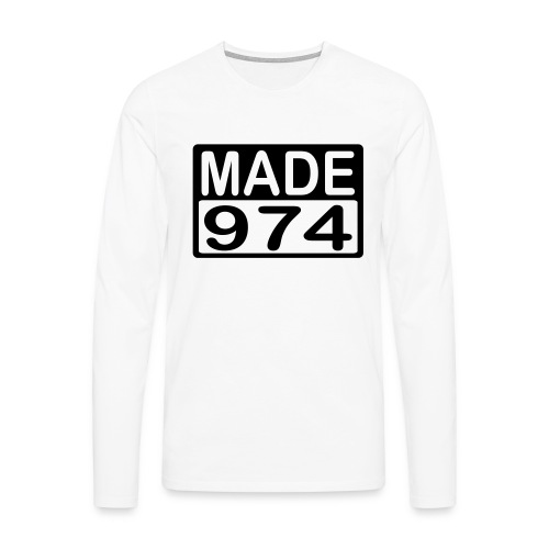 Made 974 - v2 - T-shirt manches longues Premium Homme