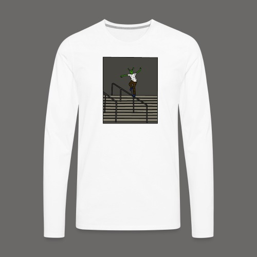 gravel tee - Men's Premium Longsleeve Shirt
