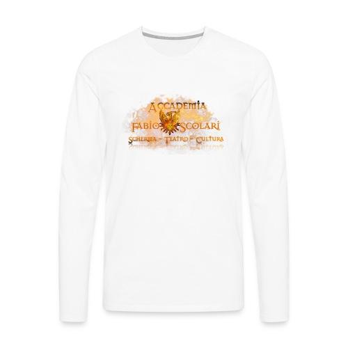 Accademia_Fabio_Scolari_trasprido-png - Maglietta Premium a manica lunga da uomo