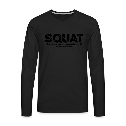 squat - Men's Premium Longsleeve Shirt