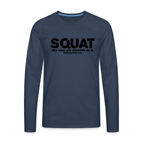 squat - Men's Premium Longsleeve Shirt