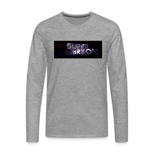 SUPERGABRY04 - Maglietta Premium a manica lunga da uomo