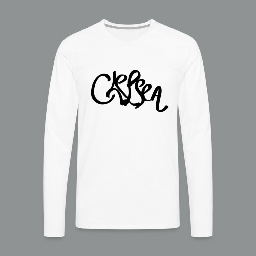 Kinder/ Tiener Shirt Unisex (rug) - Mannen Premium shirt met lange mouwen