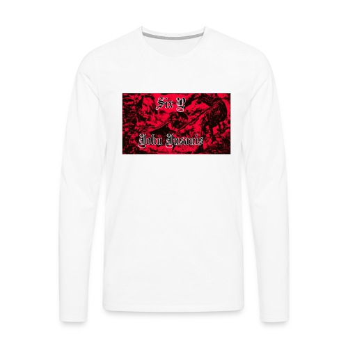 Six P & John INsanis war T-paita - Miesten premium pitkähihainen t-paita