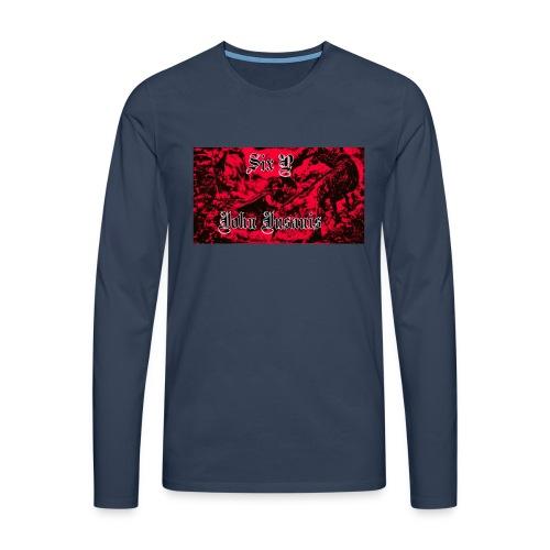 Six P & John Insanis termosmuki - Miesten premium pitkähihainen t-paita