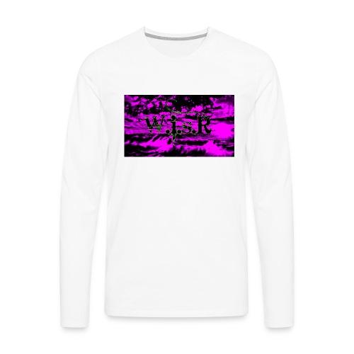 wisr valuva taivas Naisten-T Paita - Miesten premium pitkähihainen t-paita