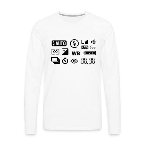 Fotograf - Männer Premium Langarmshirt