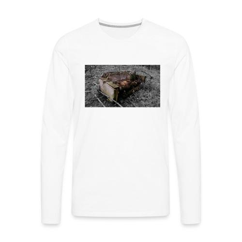 sofa 1 - Herre premium T-shirt med lange ærmer