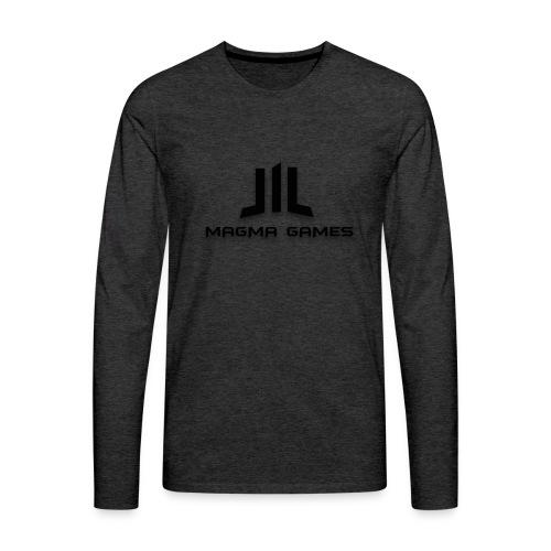 Magma Games hoesje - Mannen Premium shirt met lange mouwen