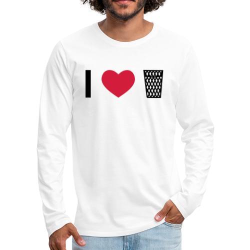 I love Äppler - Männer Premium Langarmshirt