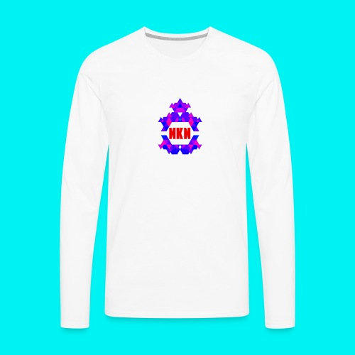 THE OFFICIAL NEUKADNEZZAR T-SHIRT - Men's Premium Longsleeve Shirt