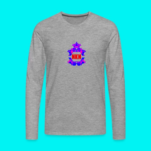 THE OFFICIAL NEUKADNEZZAR T-SHIRT - Men's Premium Longsleeve Shirt