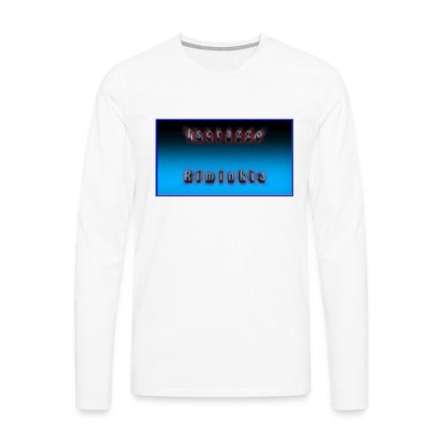 Tappetino per Mouse - Maglietta Premium a manica lunga da uomo