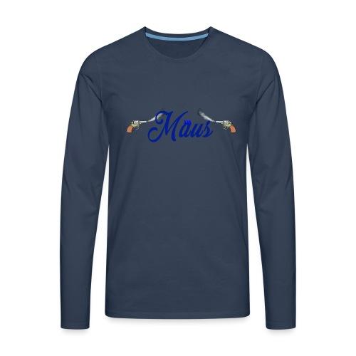 Waterpistol Sweater by MAUS - Mannen Premium shirt met lange mouwen