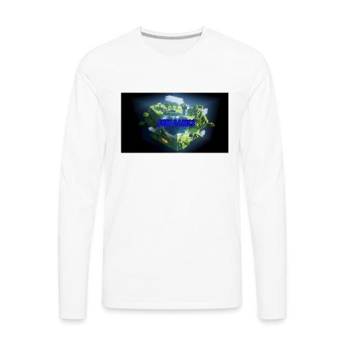 T-shirt SBM games - Mannen Premium shirt met lange mouwen