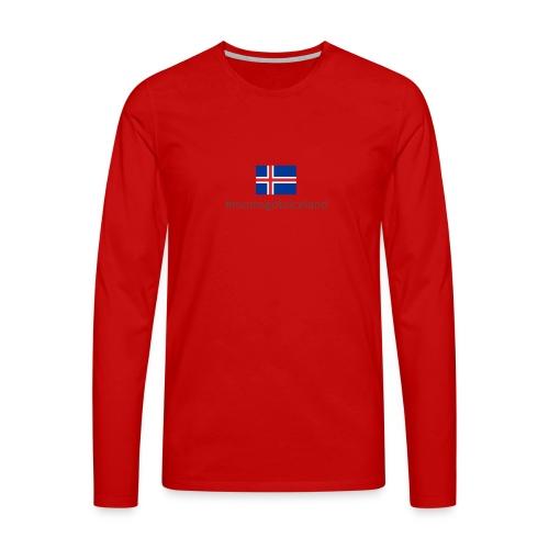 Iceland - Men's Premium Longsleeve Shirt