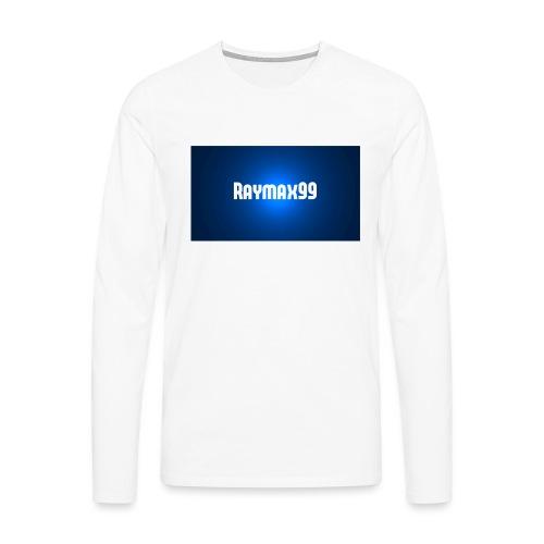 Raymax99 Herr Tröja - Långärmad premium-T-shirt herr