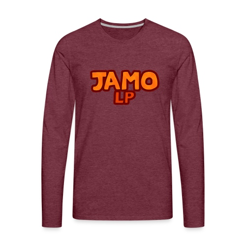 JAMOLP Logo Mug - Herre premium T-shirt med lange ærmer