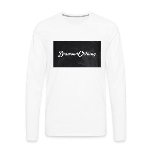 Diamond Clothing Original - Men's Premium Longsleeve Shirt