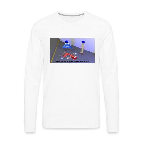 T-Shirt Toter Winkel - Männer Premium Langarmshirt