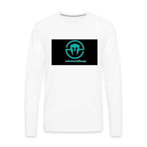 xxImmortalScope throwback - Men's Premium Longsleeve Shirt