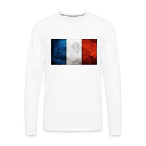 France Flag - Men's Premium Longsleeve Shirt