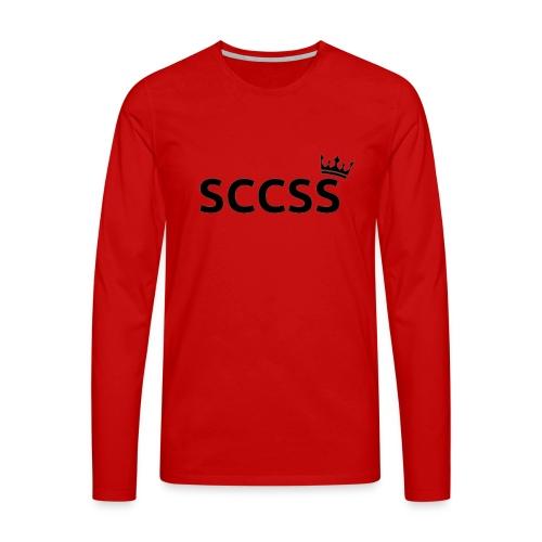 SCCSS - Mannen Premium shirt met lange mouwen