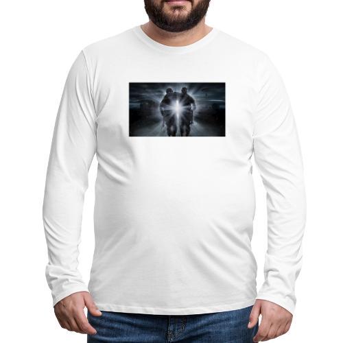 free fire battlegrounds 3 - Camiseta de manga larga premium hombre