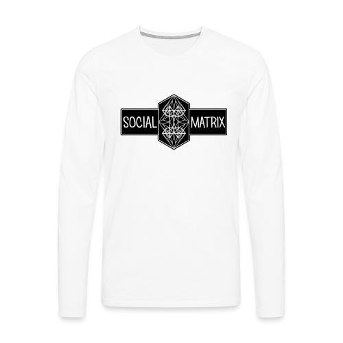 HET ORIGINEEL - Mannen Premium shirt met lange mouwen